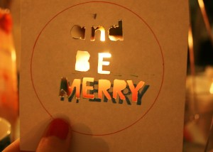 and be merry