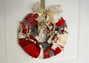 Quick DIY wreath