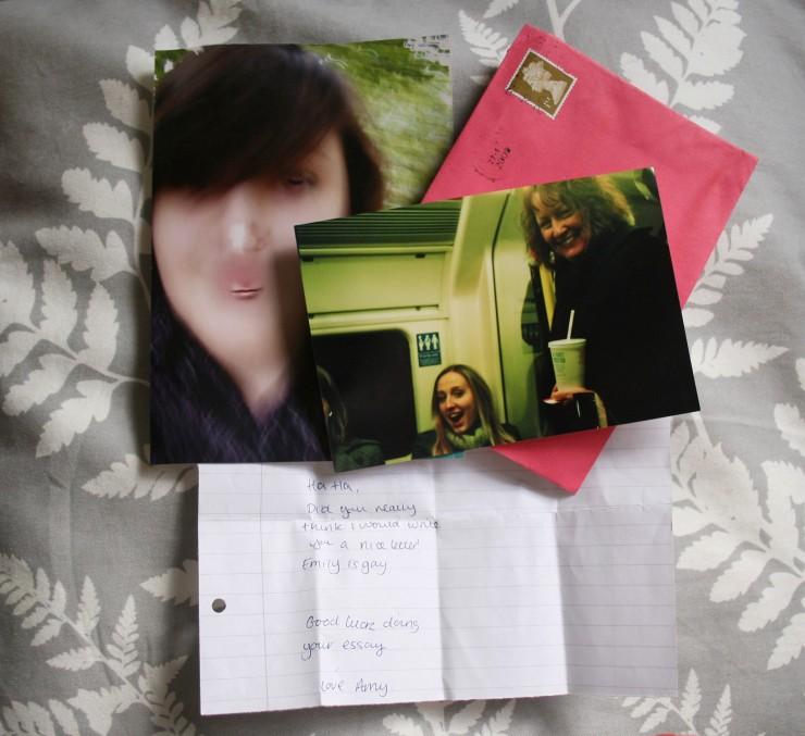 emilyannlou letters and photos
